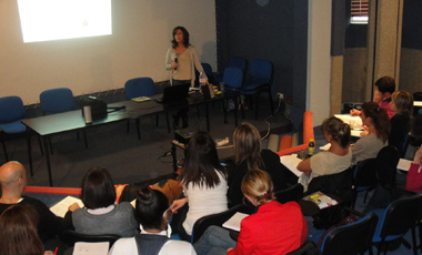 Formation Julie Tuil avec des parents